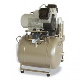 EKOM DK50 2V 50/M Oliefri trykluft kompressor med tørre