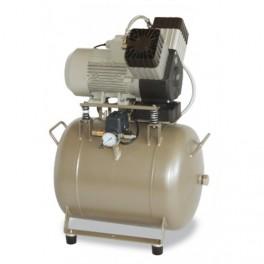 EKOM DK50 2V 50 Oliefri trykluft kompressor